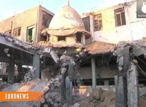 News video: Gaza Hospital Blast Kills 10, Both Sides Refuse Blame