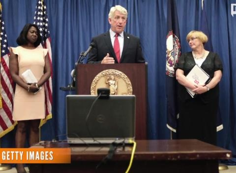 News video: Virginia's Same-Sex Marriage Ban Latest To Fall In Court